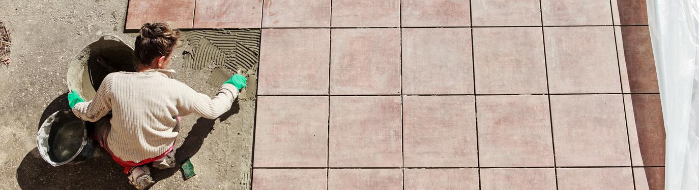Terrasse richtig pflastern