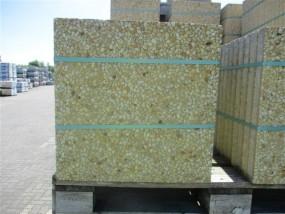 Terrassenplatten WASCHBETON FRANKREICH GELB 50/50/5 CM