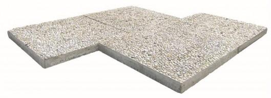 Terrassenplatten WASCHBETON COECK 50/50/5 CM
