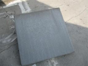 Terrassenplatten ZEMENTGRAU 40/40/4 CM GESTR.