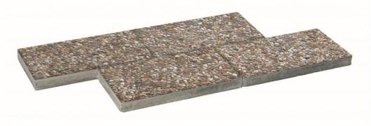 Terrassenplatten WASCHBETON RHEINKIES 25/50/5 CM