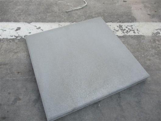 Terrassenplatten ZEMENTGRAU 50/50/4 CM M.F. GESTR.