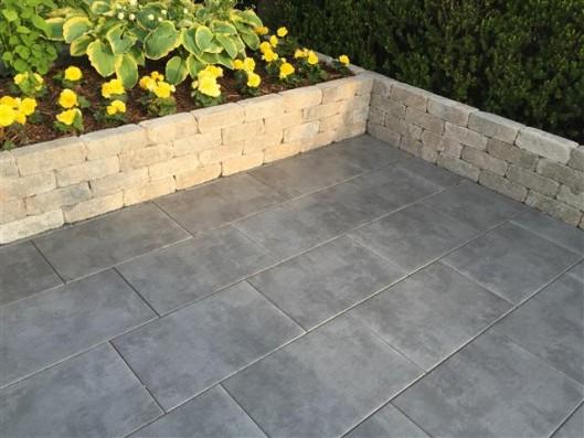 Terrassenplatten LATIO METALLICO QUARZ 60/40/4 CM