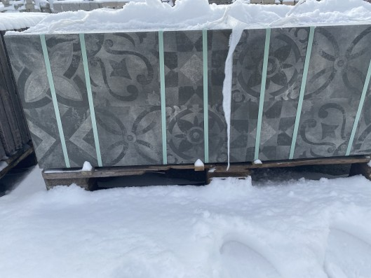 Terrassenplatten ORNAMENT QUARZ 60/40/4 CM PE5