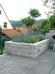 Terrassenplatten VIA ROMANO WEIß-SCHWARZ BESCHI.