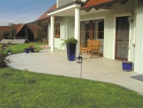 Terrassenplatten PURA PERLMUTT 40/40/4 CM 112/DBP