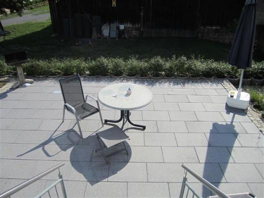 Terrassenplatten RUSTICA SCHWARZ-GRANIT 60/40/4 CM