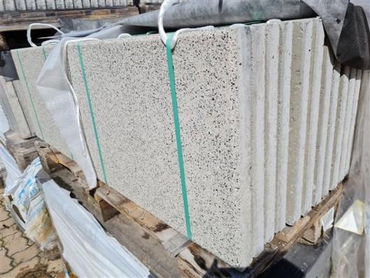 Terrassenplatten RUSTICA WEIß-GRANIT 60/40/4 CM