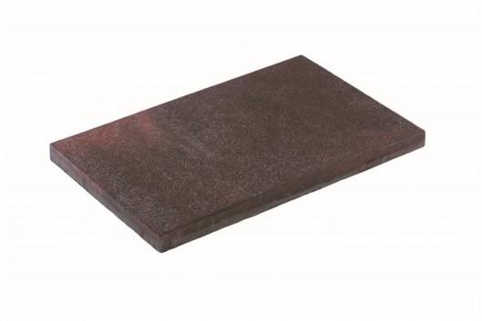 Terrassenplatten RUSTICA ROT-SCHWARZ GEFLAMMT 60/40/4 CM