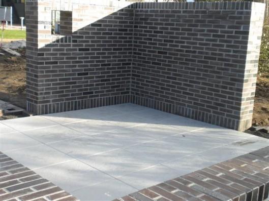 Terrassenplatten DIE BELGISCHE GRAU-WEIß 60/60/4 CM