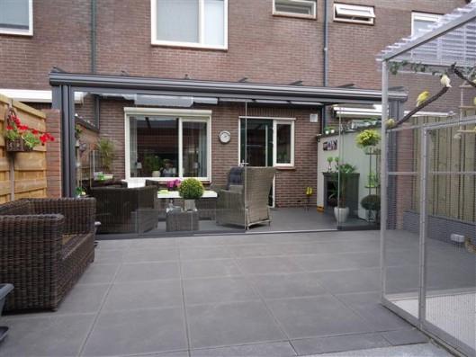 Terrassenplatten DIE BELGISCHE SCHWARZ-BASALT 60/60/4 CM