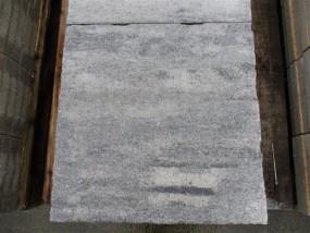 Terrassenplatten ROH CARISMA WEI?-SCHWARZ 60/60/5