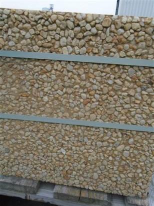 Terrassenplatten WASCHBETON FRANKREICH GELB 40/40/4 CM