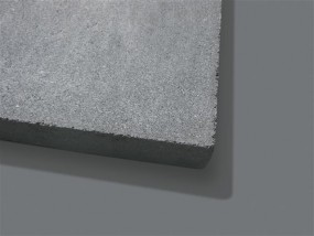 Terrassenplatten ZEMENTGRAU 40/40/4 CM O. FASE 84/DBP