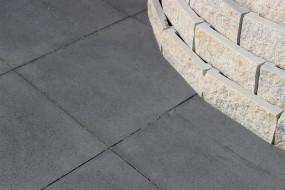 Terrassenplatten ANTHRAZIT 40/40/4 CM O.FASE 84/DBP