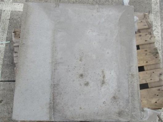 Terrassenplatten ZEMENTGRAU 80/80/5 CM O. FASE