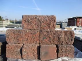 Mauersteine SIOLA®-MINI ROT-SCHW. 35/16,5/15 CM PE3