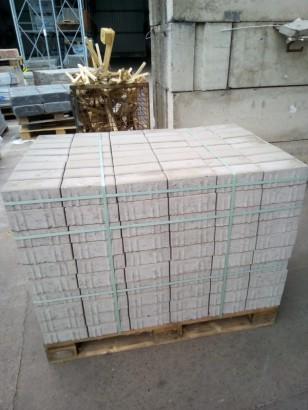 Pflastersteine RECHTECK-PFL. GRAU 20/10/8 CM IHS-VS