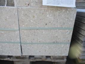 Terrassenplatten OPTIMA ALPENWEIß-ROSE GESCHL. 40/40/4 CM