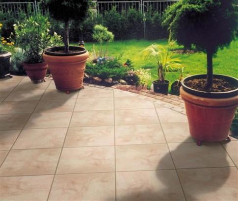 Terrassenplatten RUSTICA OCKER-GELB-ROSE 40/40/4 112/DBP
