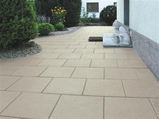 Terrassenplatten RUSTO PERLMUTT 40/40/4 CM PE2