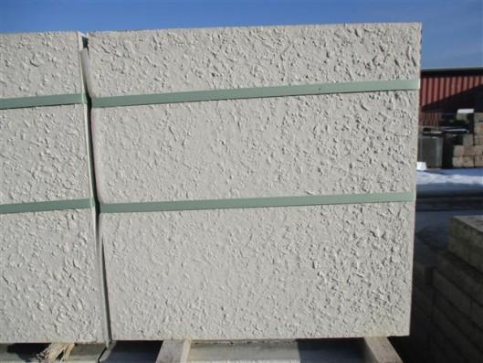 Terrassenplatten ROH OPTIMA ALPENWEIß-ROSE 40/40/4 CM