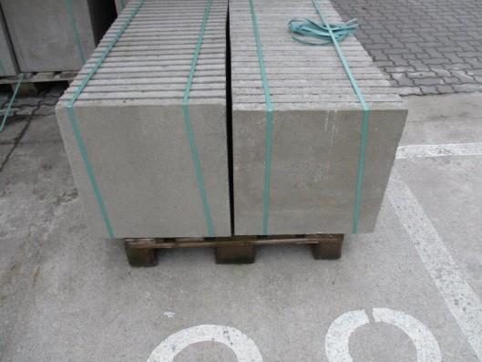 Terrassenplatten 1B ZEMENTGRAU 50/50/5 CM O. FASE 48/DBP