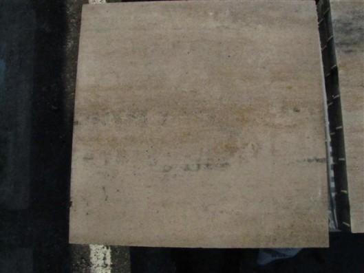 Terrassenplatten 1B MUSCHELKALK 80/80/5 CM O.F. PE2
