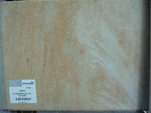 Terrassenplatten 1B VIA SANDSTEIN 60/40/4 CM PE2 72/DBP