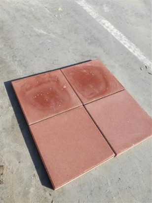 Terrassenplatten 1B ROT 50/50/5 CM M. FASE 48/DBP