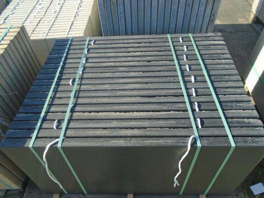 Terrassenplatten 1B ATRIO BASALT 100/50/4 CM