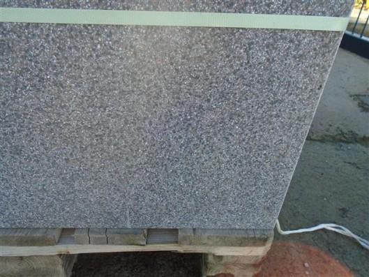 Terrassenplatten 1B 40/40 SCHWARZ GESCHLIFFEN