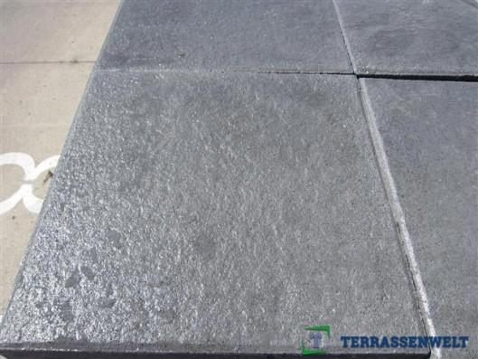 Terrassenplatten 1B DIE BELG. SCHWARZ-BASALT 40/40/4CM