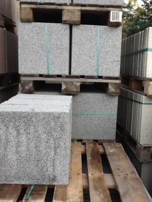 Terrassenplatten 1B RUSTICA GRAU-GRANIT 40/40/4