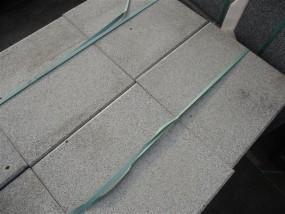 Terrassenplatten 1B 40/40 RUSTICA WEIß-GRANIT