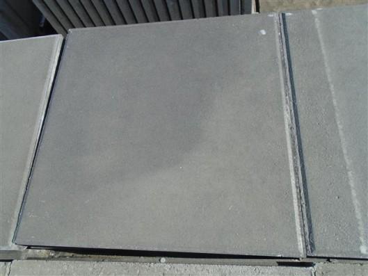 Terrassenplatten 1B RUSTICA GRAU-SCHWARZ 40/40/4