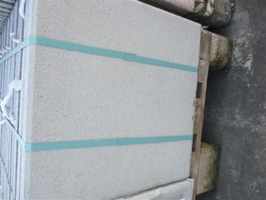 Terrassenplatten 1B RUSTICA GRAU-WEIß 40/40/4 CM