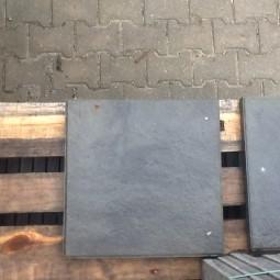 Terrassenplatten 1B SANDST GRAU-SCHWARZ 40/40/4 S1
