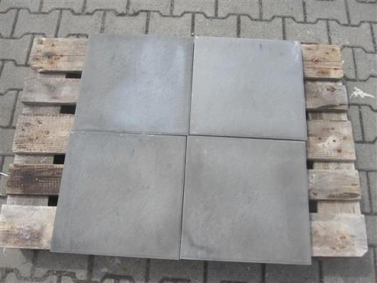 Terrassenplatten X-TRA GRAU SCHWARZ 40/40/4