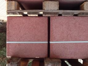 Terrassenplatten 1B ROT 40/40/4 CM