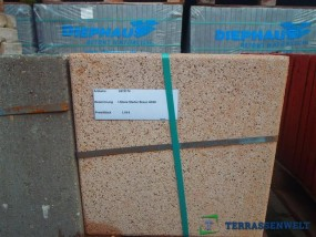 Terrassenplatten 1B RUSTO BRAUN 40/40/4 CM PE2