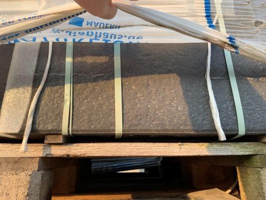 Terrassenplatten 1B BEL SCHWARZ-BASALT 60/40/4 CM