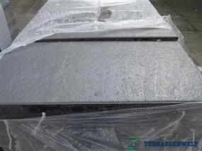 Terrassenplatten 1B BELGISCHE SCHWARZ-BASALT 80/40/4 CM