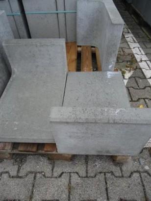Mauersteine 1B L-STEIN GRAU 60/40/30/7 CM