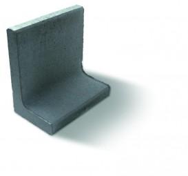 Objekte/- Gestaltungselemente 1B L-STEIN GRAU 80/40/40/7 CM