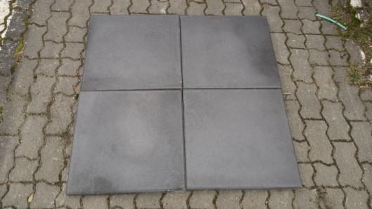 Terrassenplatten 1B BASALT GESTRAHLT 50/50/4