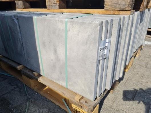 Terrassenplatten 1B RUSTICA WEIß-SCHWARZ 60/40/4 CM