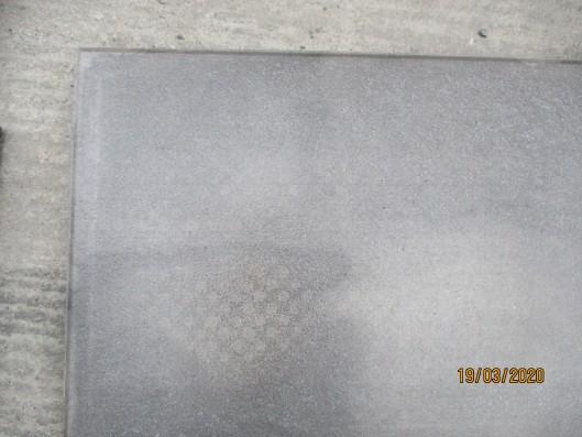 Terrassenplatten Rustica Nano Grau Schwarz 60/40/4