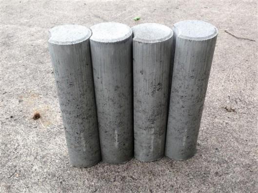 Objekte/- Gestaltungselemente 1B MINI-PALISADE GRAU 11/40 CM