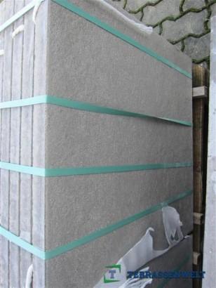 Terrassenplatten 1B DIE BELGISCHE MITTELGRAU 60/60/4 CM